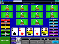 Microgaming Aces and Faces 10 Play Poker