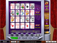 Playtech Aces and Faces 4 Hand Poker