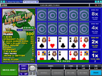 Microgaming Aces and Faces Level-Up 4 Hand Poker