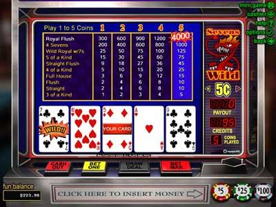 Spiele Sevens Wild - 52 Hands - Video Slots Online