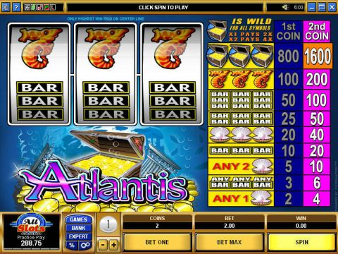 Atlantis Slot Reels