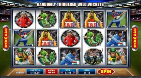 Cricket Star Slot Reels