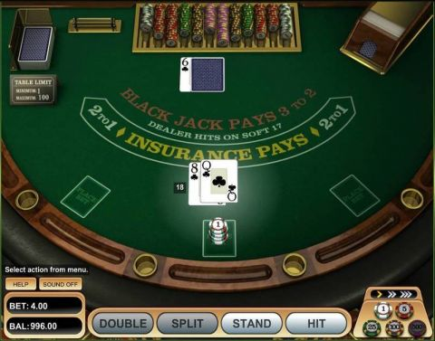 American Blackjack Table Table ScreeenShot