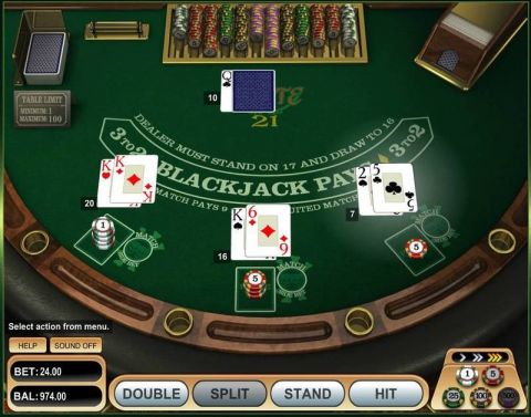 Pirate 21 Blackjack Table Table ScreeenShot