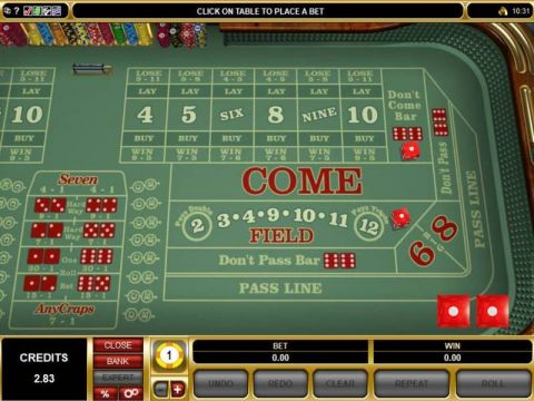 Vegas Craps Table Table ScreeenShot