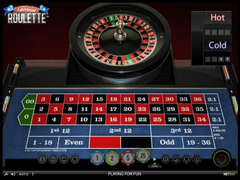 American Roulette Roulette Table ScreeenShot