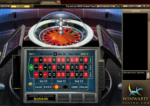 Electronic Roulette Table Table ScreeenShot