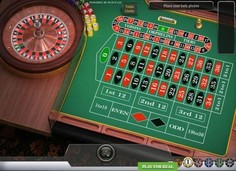 English Roulette Roulette Table ScreeenShot