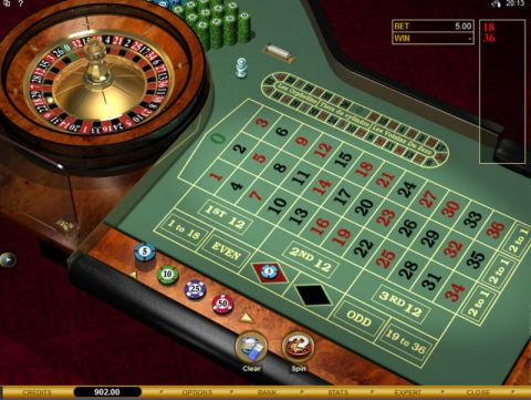 European Roulette Gold Table Table ScreeenShot