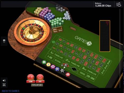 European Roulette Table Table ScreeenShot