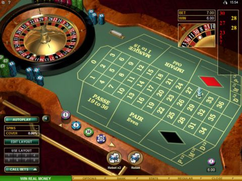 French Roulette Gold Table Table ScreeenShot