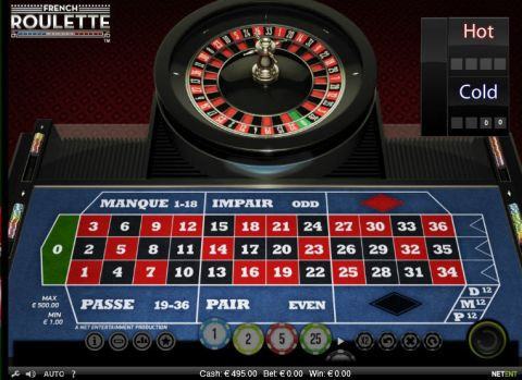 French Roulette Roulette Table ScreeenShot