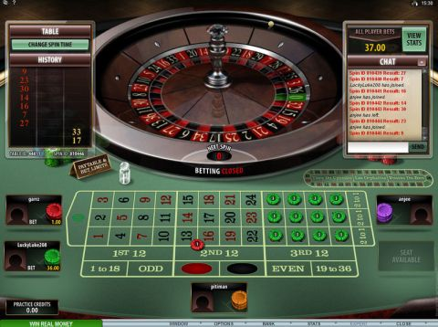 Multi-Player Roulette Diamond Edition Table Table ScreeenShot