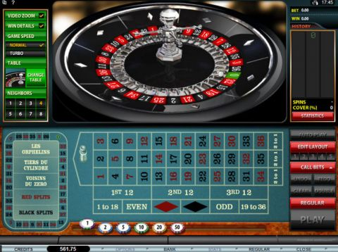 Premier Roulette Table Table ScreeenShot