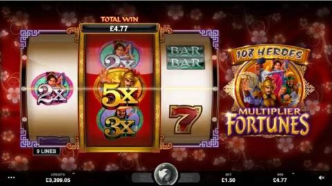 108 Heroes Multiplier Fortune Slot Slot Reels