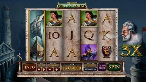 Age of the Gods - God of Storms Slot Slot Reels