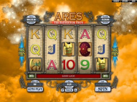 Ares: The Battle for Troy Slot Slot Reels