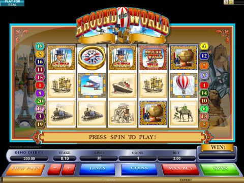Around the World Slot Slot Reels