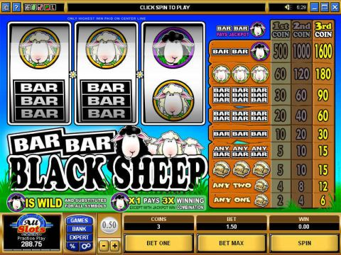 Bar Bar Black Sheep Slot Slot Reels