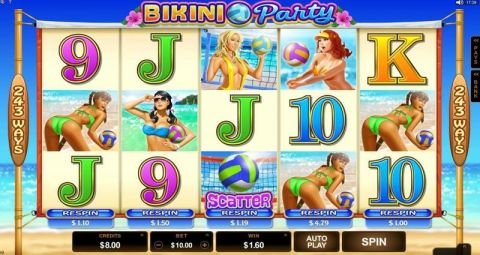 Bikini Party Slot Slot Reels