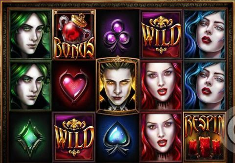 Blood Lust Slot Slot Reels