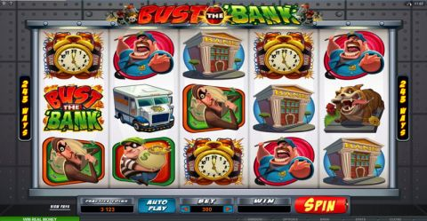 Bust the Bank Slot Slot Reels