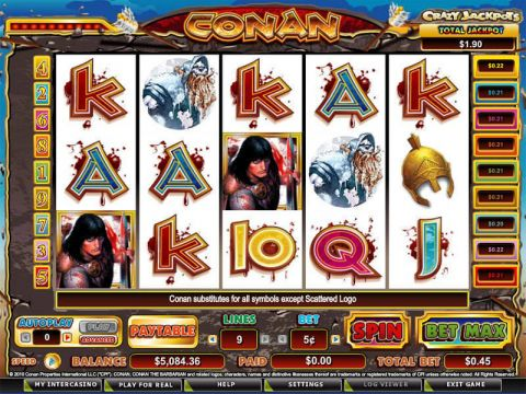 Conan the Barbarian Slot Slot Reels