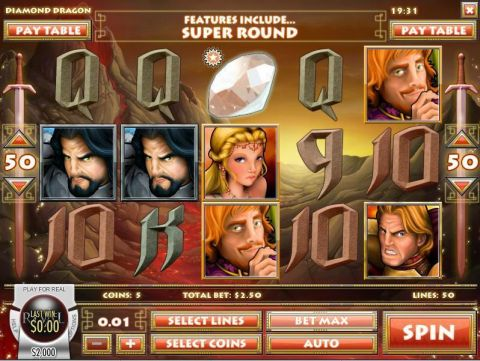 Diamond Dragon Slot Slot Reels