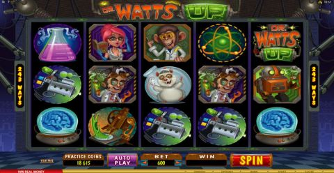 Dr. Watts Up Slot Slot Reels