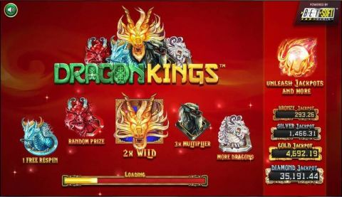 Dragon Kings Slot Info