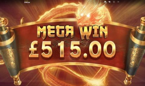 Dragon's Luck Deluxe Slot Winning