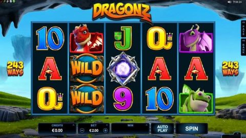 Dragonz Slot main