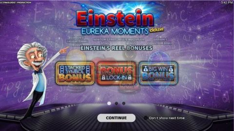 Einstein Eureka Moments Slot Info