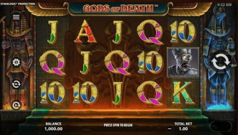 Gods of Death Slot Slot Reels