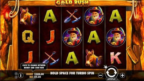 Gold Rush Slot Slot Reels