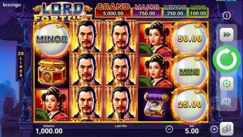 Lord Fortune Slot Slot Reels