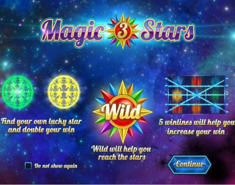 Magic Stars 3 Slot Info