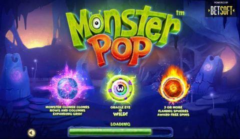 Monster Pop Slot Info