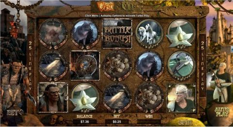 Orc vs Elf Slot Slot Reels