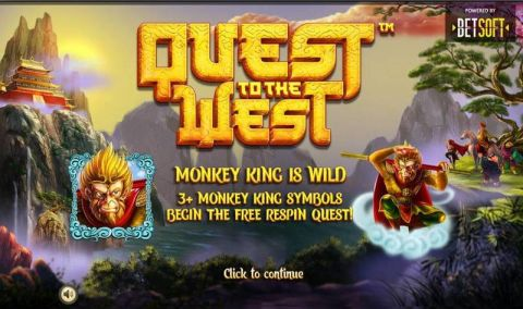 Quest to the West Slot Info