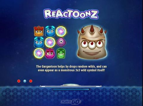 Reactoonz Slot Info