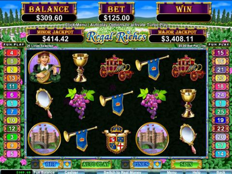 Regal Riches Slot Slot Reels
