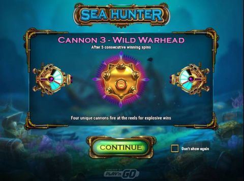 Sea Hunter Slot Info