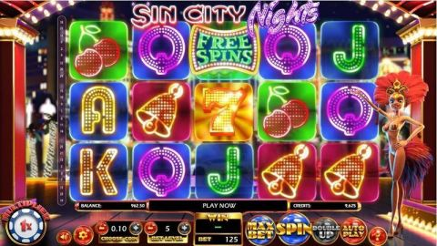 Sin City Nights Slot Slot Reels