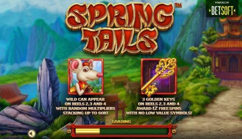 Spring Tails Slot Info