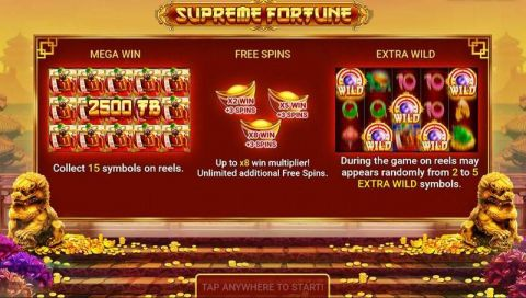 Supreme Fortune Slot Info