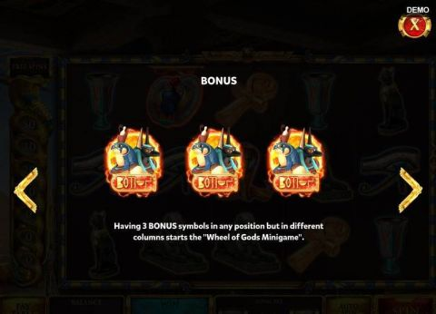 The Asp of Cleopatra Slot Bonus 1