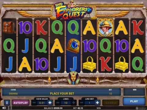 The Explorer's Quest Slot Slot Reels