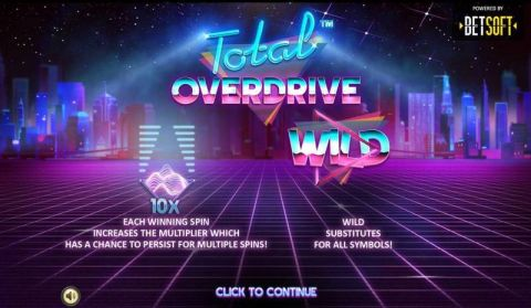 Total Overdrive Slot Info