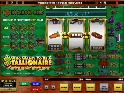 Who want's to be a Stallionaire Slot Slot Reels